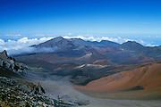 Haleakala Crater; Haleakala National Park, Maui, Hawaii..