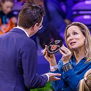 NLD/Amsterdam/20190127- Royals bij Jumping Amsterdam, Prinses Margarita de Bourbon de Parme reikt prijs uit