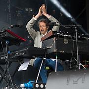 Level 42 in concert at Rewind Scotland, Scone Place, Perth, Scotland