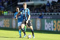 Atalanta-Napoli - Serie A 2017-18 - 21a giornata - Nella foto: Andreas Cornelius - Atalanta