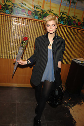 PIXIE GELDOF at a party hosted by Mulberry to celebrate the publication of The Meaning of Sunglasses by Hadley Freeman held at Mulberry 41-42 New Bond Street, London on 14th February 2008.<br />