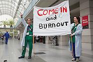 Charité nurse strike, Berlin 28.04.16