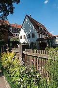 Garten des Kirms-Krakow-Haus, Weimar, Thüringen, Deutschland   garden of Kirms-Krakow-Haus, Weimar, Thuringia, Germany