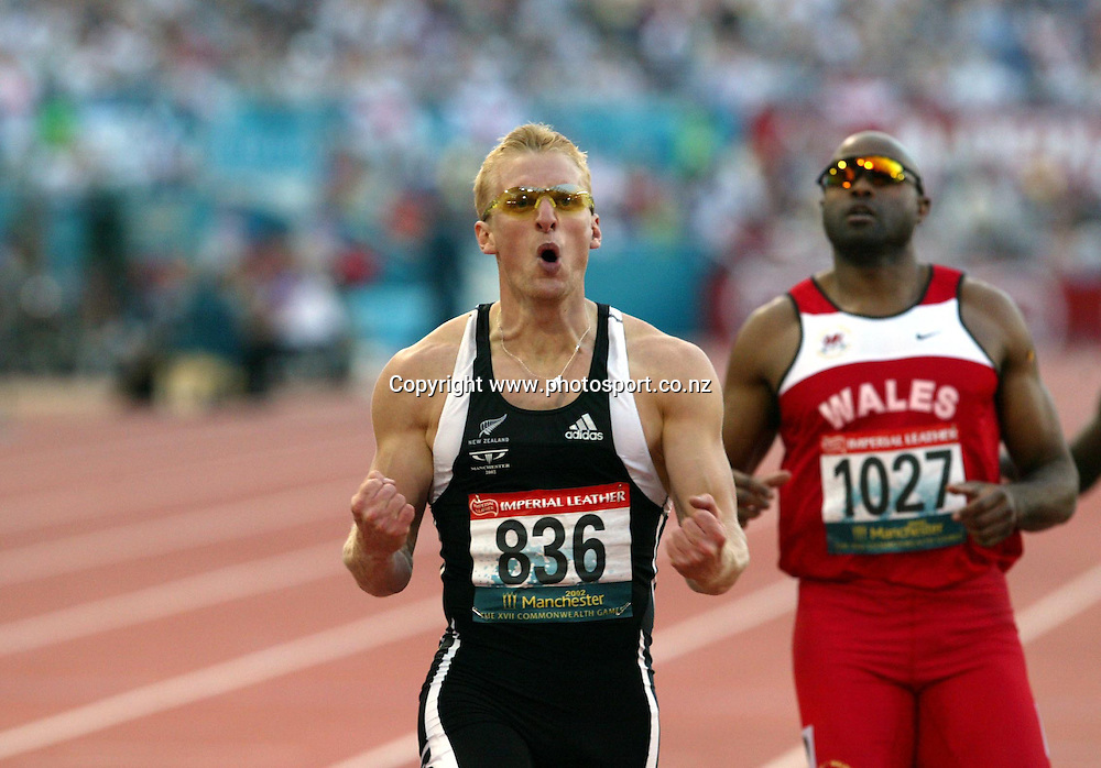 26 July 2002, Manchester stadium , Sportcity, Commonwealth Games, Manchester, England.<br />