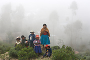 The Kallayawas in Curva,.Bolivia, a native commaunity well known for his ancient tradition of holistic medicine.that goes back to the pre-Incan period. .