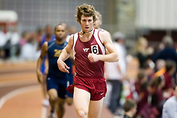 Ryan Witt (Virginia Tech) in the men's 1000m run.  Day 2 of the Virginia Tech Invitational Track and Field meet was held at the Rector Field House on the campus of Virginia Tech in Blacksburg, VA on January 12, 2008.