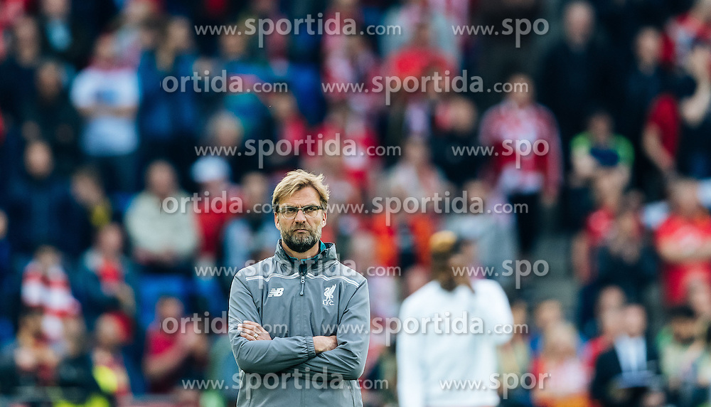 18.05.2016, St. Jakob Park, Basel, SUI, UEFA EL, FC Liverpool vs Sevilla FC, Finale, im Bild Trainer Juergen Klopp (FC Liverpool) // Trainer Juergen Klopp (FC Liverpool) during the Final Match of the UEFA Europaleague between FC Liverpool and Sevilla FC at the St. Jakob Park in Basel, Switzerland on 2016/05/18. EXPA Pictures © 2016, PhotoCredit: EXPA/ JFK