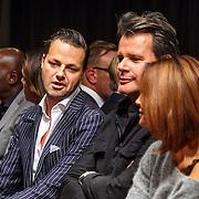 NLD/Amsterdam/20150919 - Modeshow Mart Visser - The Confidence, Fred van Leer, Leco van Zadelhoff, Leontine Borsato