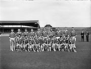 All-Ireland Junior Hurling Championship Home Final, Meath v Kerry. .Kerry Team..10.09.1961