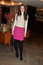 LONDON, ENGLAND 2 DECEMBER 2016: <br /> Kim Nayar at a breakfast attended by a host of influencers, press and VIPs to celebrate the official launch of EVARAE the new British luxury resort wear brand, held at The Hari Hotel, 20 Chesham Place, London.  England. 2 December 2016.