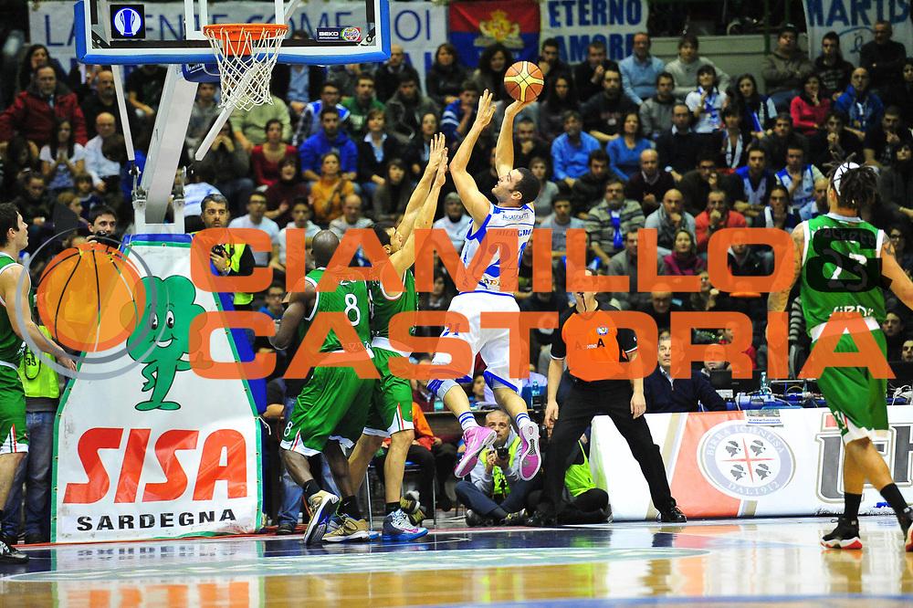 DESCRIZIONE : Sassari Lega A 2012-13 Dinamo Sassari Montepaschi Siena<br /> GIOCATORE : Dane Diliegro<br /> CATEGORIA : Tiro<br /> SQUADRA : Dinamo Sassari<br /> EVENTO : Campionato Lega A 2012-2013 <br /> GARA : Dinamo Sassari Montepaschi Siena<br /> DATA : 14/01/2013<br /> SPORT : Pallacanestro <br /> AUTORE : Agenzia Ciamillo-Castoria/M.Turrini<br /> Galleria : Lega Basket A 2012-2013  <br /> Fotonotizia : Sassari Lega A 2012-13 Dinamo Sassari Montepaschi Siena<br /> Predefinita :