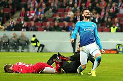 Olivier Giroud of Arsenal cuts a frustrated figure - Mandatory by-line: Robbie Stephenson/JMP - 23/11/2017 - FOOTBALL - RheinEnergieSTADION - Cologne,  - Cologne v Arsenal - UEFA Europa League Group H