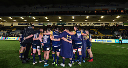 Worcester huddle - Mandatory by-line: Alex Davidson/JMP - 22/12/2017 - RUGBY - Sixways Stadium - Worcester, England - Worcester Warriors v London Irish - Aviva Premiership