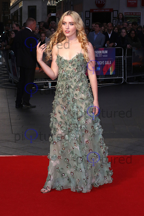 Kathryn Newton, Three Billboards Outside Ebbing, Missouri - BFI LFF Closing Gala, Leicester Square, London UK, 15 October 2017, Photo by Richard Goldschmidt