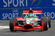 DURBAN, South Africa, Team Lebanon's Khalil Beschir  (21st 1:20:953) during the third practice session held as part of the A1GP race weekend in Durban, South Africa on Saturday 23 February 2008.  Photo: SportsPics/SPORTZPICS