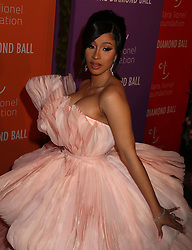 September 12, 2019, New York, New York, USA: CARDI B attends RihannaÃ•s Fifth Annual Diamond Ball held at Cipriani Wall Street. (Credit Image: © Nancy Kaszerman/ZUMA Wire)