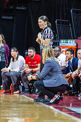 NORMAL, IL - January 03:  during a college women's basketball game between the ISU Redbirds and the Sycamores of Indiana State January 03 2020 at Redbird Arena in Normal, IL. (Photo by Alan Look)
