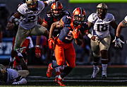 Illinois Fighting Illini football vs Purdue Boilermakers in Champaign, Il. Sports photography by Michael Hickey