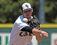Kansas State starting pitcher Adam Cowart picked up the win for the Wildcats, pitching seven innings, giving up one run on eight hits.  K-State defeated the Baylor Bears 3-1 at Tointon Stadium in Manhattan, Kansas, May 20, 2006.