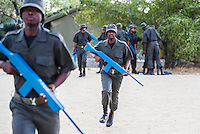Ranger Firearms Training, South African Wildlife College, Limpopo Province, South Africa