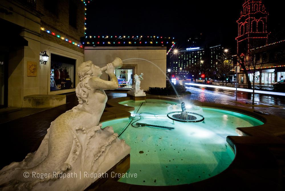 Christmas Holiday Country Club Plaza Kansas City Missouri