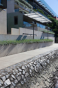 Exterior details of Queensland Art Gallery