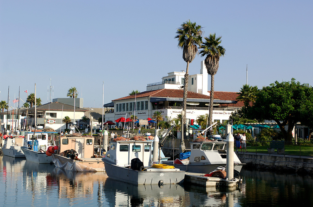 Santa Barbara Harbor, Santa Barbara, California, United States of America