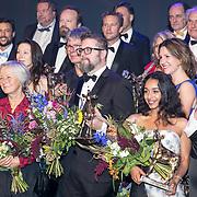 NLD/Utrecht/20170929 - Uitreiking Gouden Kalveren 2017, groepsfoto