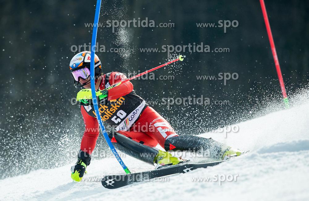 NANI Roberto of Italy competes during 1st Run of Men Slalom race of FIS Alpine Ski World Cup 54th Vitranc Cup 2015, on March 15, 2015 in Kranjska Gora, Slovenia. Photo by Vid Ponikvar / Sportida
