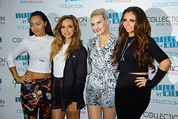 Little Mix Collection Launch. <br /> British Girl band Little Mix during the launch of their fashion Collection, London, United Kingdom. Tuesday, 24th September 2013. Picture by Chris Joseph / i-Images