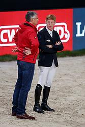 BECKER Otto (Bundestrainer Springen GER), EHNING Marcus (GER)<br /> Paris - FEI World Cup Finals 2018<br /> Longines FEI World Cup Jumping Final I<br /> www.sportfotos-lafrentz.de/Stefan Lafrentz<br /> 12. April 2018