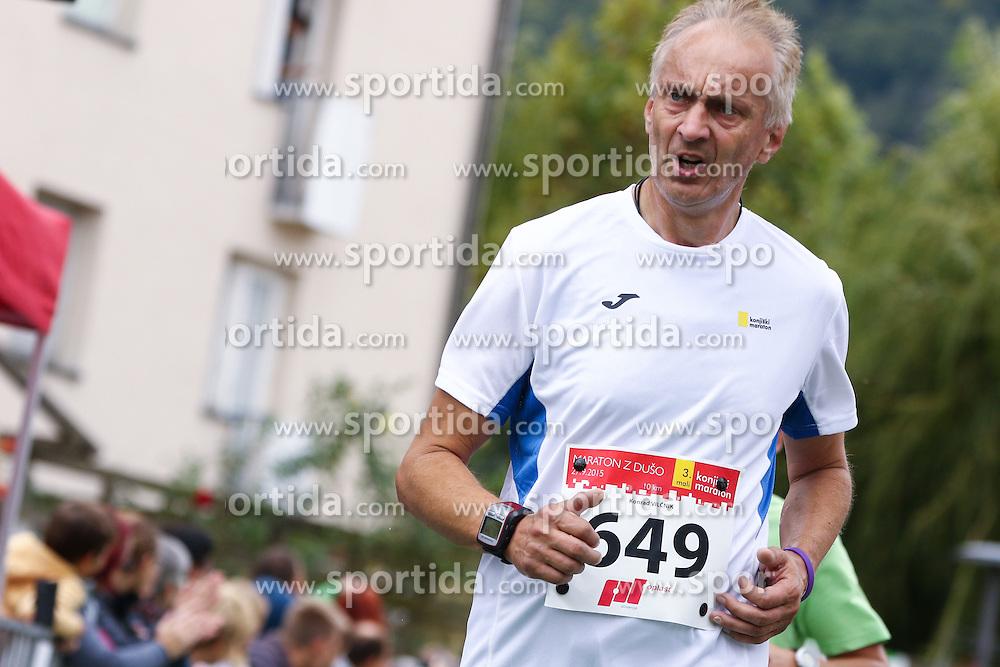 Konrad Vilcnik competes during 3. Konjiski maraton / 3rd Marathon of Slovenske Konjice, on September 27, 2015 in Slovenske Konjice, Slovenia. Photo by Urban Urbanc / Sportida