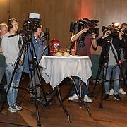 NLD/Hilversum/20181002 - Artiesten Holland zingt Kerst 2018, belangstellende pers