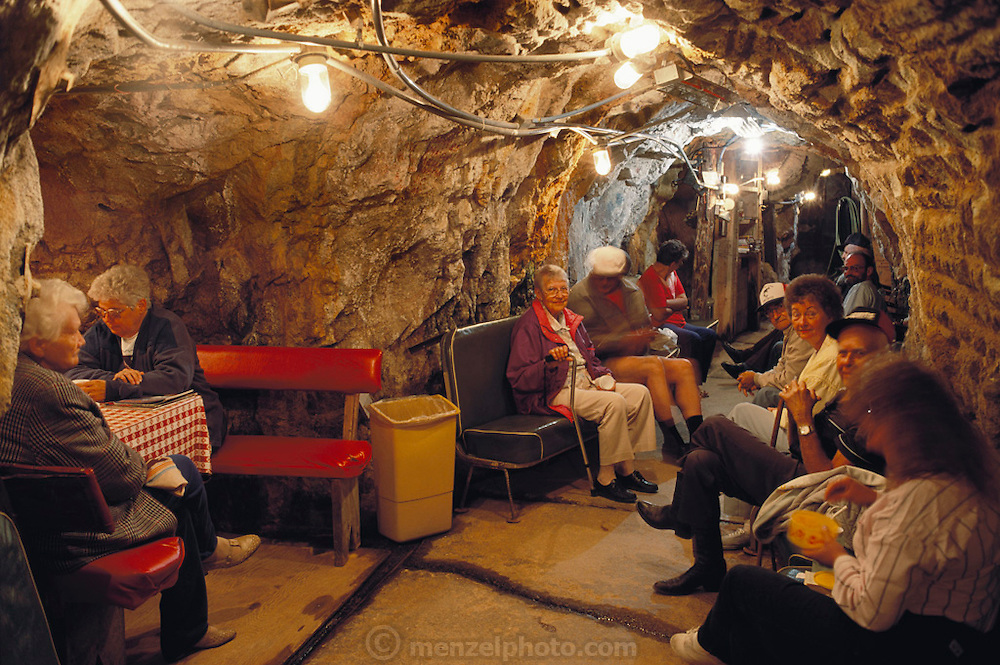 RADON CURE: Defunct gold and uranium mines south of Helena, Montana, attract ailing tourists, who bask in radioactive radon gas and drink radioactive water to improve their health. Each summer, hundreds of people, come to the radon health mines to relax and treat arthritis, lupus, asthma and other chronic cripplers.   (1991)