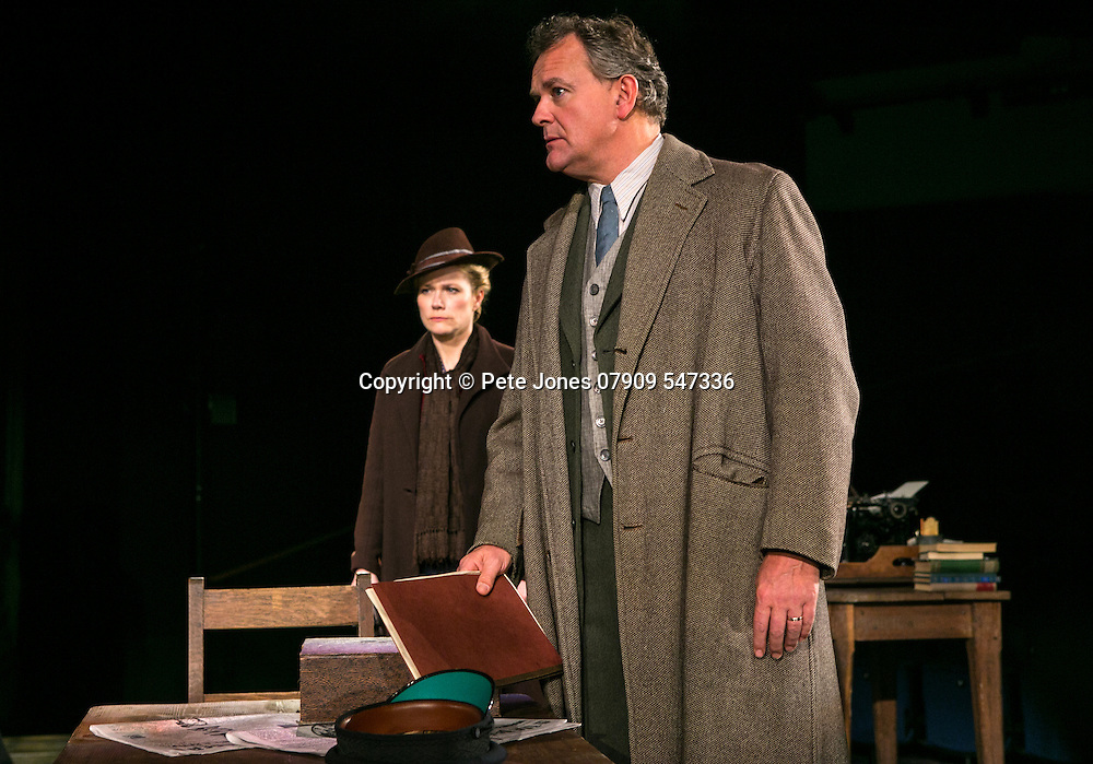 An Enemy of the People by Henrik Ibsen;<br /> Directed by Howard Davies;<br /> Hugh Bonneville as Dr Tomas Stockmann;<br /> Abigail Cruttenden as Mrs Stockmann;<br /> Michael Fox as Billing;<br /> Chichester Festival Theatre, Chichester, UK;<br /> 29 April 2016