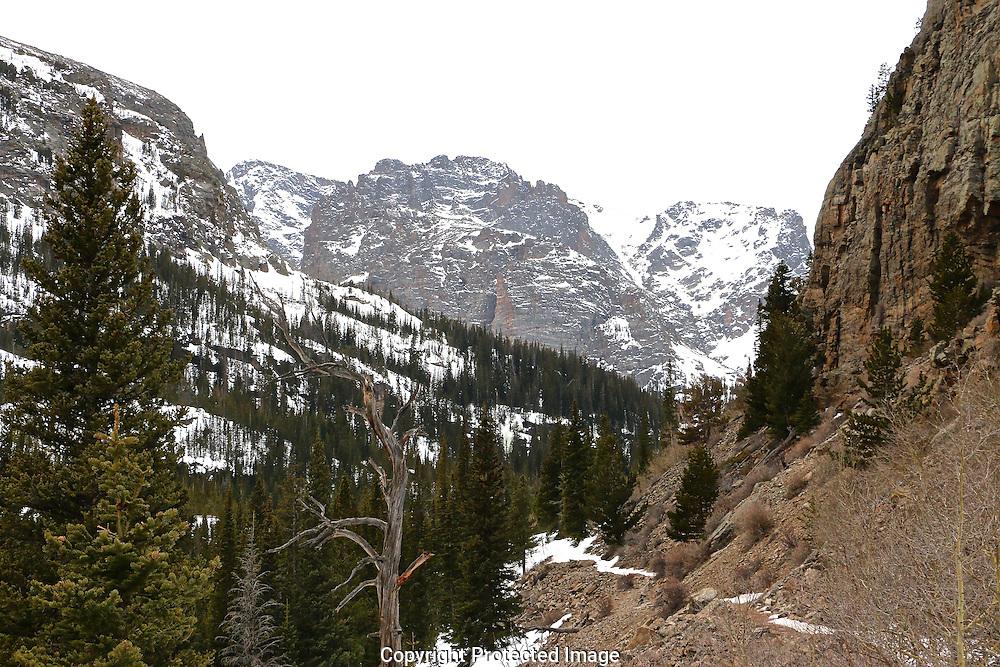Glacier Gorge Trail RMNP - Early Spring