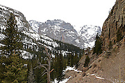 Glacier Gorge Trail RMNP - Early Spring