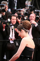 Actress Marion Cotillard at the gala screening of the film De rouille et d'os at the 65th Cannes Film Festival. Thursday 17th May 2012, the red carpet at Palais Des Festivals in Cannes, France.