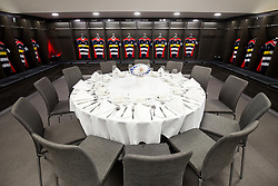 Ashton Gate Dressing Room Dining Experience Auction Photos - Rogan/JMP - 15/11/2017 - Ashton Gate Stadium - Bristol, England.