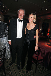 The DUKE & DUCHESS OF ROXBURGHE at the annual Cartier Racing Awards held at the Grosvenor House Hotel, Park Lane, London on 17th November 2008.