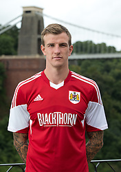 Aden Flint of Bristol City - Photo mandatory by-line: Kieran McManus/JMP - Tel: Mobile: 07966 386802 31/07/2013 - SPORT - FOOTBALL - Avon Gorge Hotel - Clifton Suspension bridge - Bristol -  Team Photo