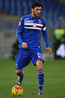 Roberto Soriano Sampdoria <br /> Roma 07-02-2016 Stadio Olimpico, Football Calcio 2015/2016 Serie A. AS Roma - Sampdoria . Foto Andrea Staccioli / Insidefoto