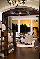 Stonewood Designers & Builders '09 Luxury Home Tour Model, photographer James Michael Kruger.