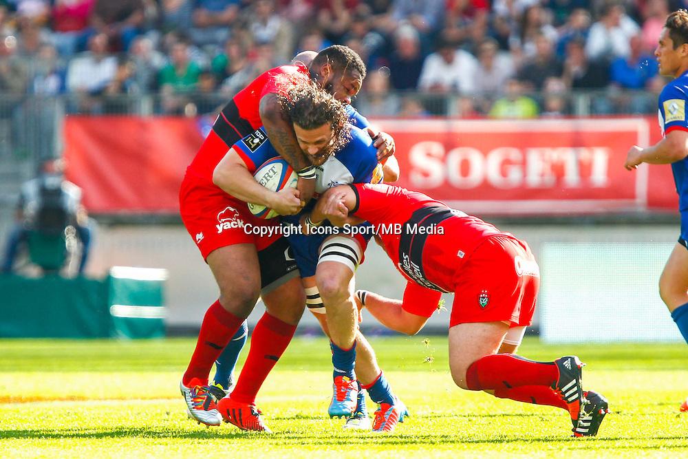 Fabien ALEXANDRE  - 11.04.2015 - Grenoble / Toulon  - 22eme journee de Top 14 <br />Photo :  Jacques Robert / Icon Sport