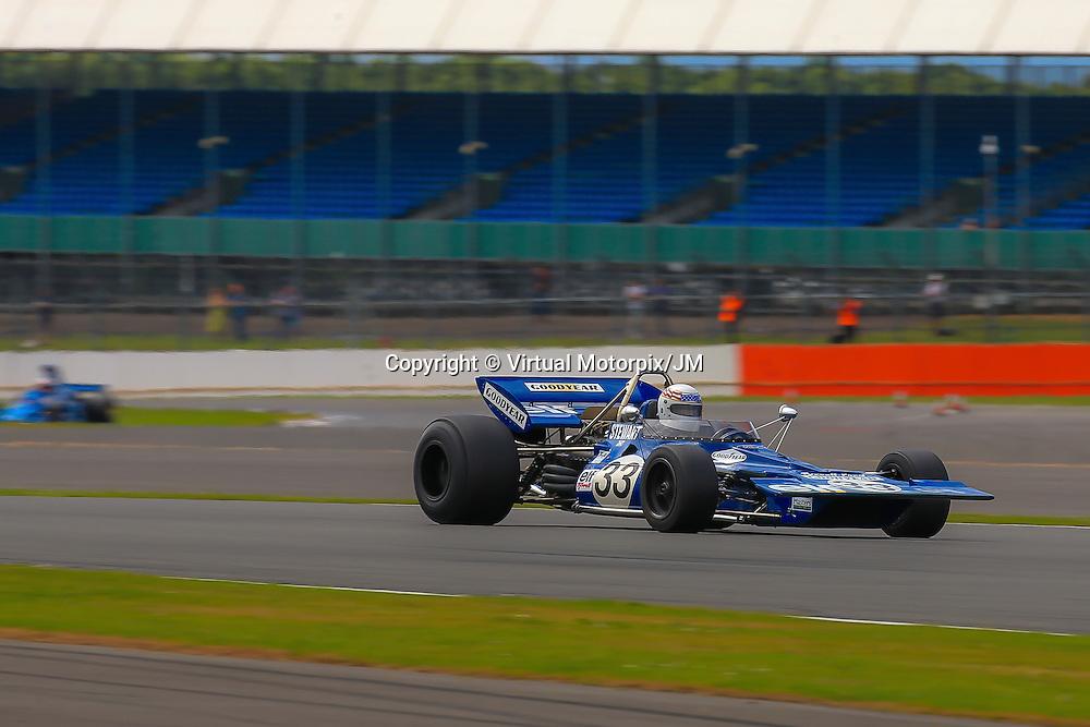 #33, John Delane, Tyrell 001, Silverstone Classic, 30/07/2016,