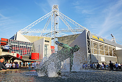 A general view of the Sir Tom Finney statue outside Deepdale Stadium - Mandatory by-line: Matt McNulty/JMP - 16/08/2016 - FOOTBALL - Deepdale - Preston, England - Preston North End v Derby County - Sky Bet Championship
