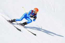 BERTAGNOLLI Giacomo B3 ITA Guide: CASAL Fabrizio competing in the Para Alpine Skiing Downhill at the PyeongChang2018 Winter Paralympic Games, South Korea