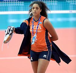 28-09-2014 ITA: World Championship Volleyball Mexico - Nederland, Verona<br /> Nederland wint met 3-0 van Mexico / Celeste Plak