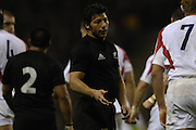 Twickenham. GREAT BRITAIN, Byron KELLEHER, during  the 2006 Investec Challenge, game between, England  and New Zealand [All Blacks], on Sun., 05/11/2006, played at the Twickenham Stadium, England. Photo, Peter Spurrier/Intersport-images].....   [Mandatory Credit, Peter Spurier/ Intersport Images].