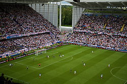 LENS, FRANCE - Thursday, June 16, 2016: A general view of the Stade Bollaert-Delelis during the UEFA Euro 2016 Championship Group B match between England and Wales. (Pic by Paul Greenwood/Propaganda)